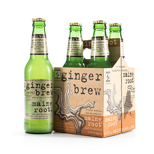 Maine Root - Ginger Brew 12oz (4 pack)