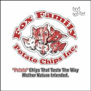 Fox Family Potato Chips BBQ 7oz (1bag)