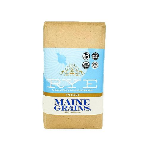 Maine Grains- Rye Flour 2.4lb Organic