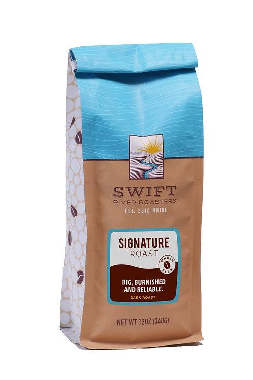 Swift River Roasters Signature Roast Ground Coffee Dark Roast