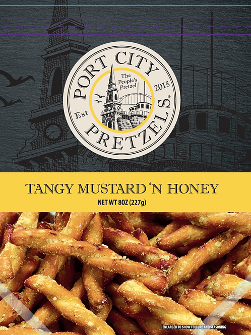 Port City Pretzels- Mustard & Honey