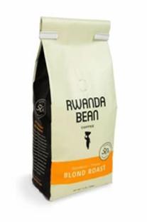 "Rwanda Bean blonde IKEREKEZO "" VISION"" ROAST 12oz (single bag)"