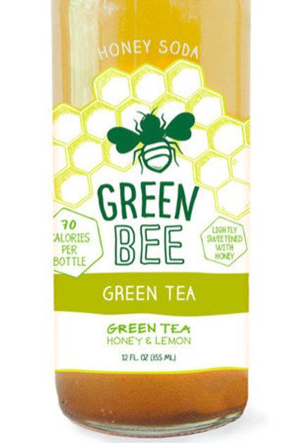Green Bee Green Tea Honey Soda 12oz (4 pack)