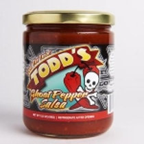 Todd's Ghost Pepper Salsa 16oz