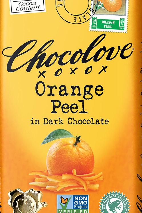 Chocolove - Orange Peel Dark Chocolate Bar 3.2oz