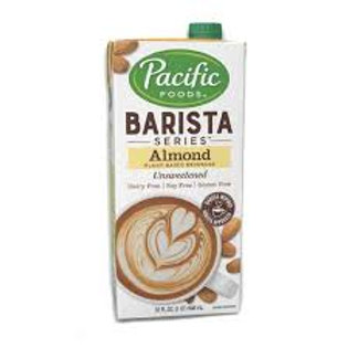 Pacific Barista Series Almond Milk (unsweetened) 32oz