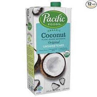 Pacific Barista Unsweetened Coconut Milk 32oz