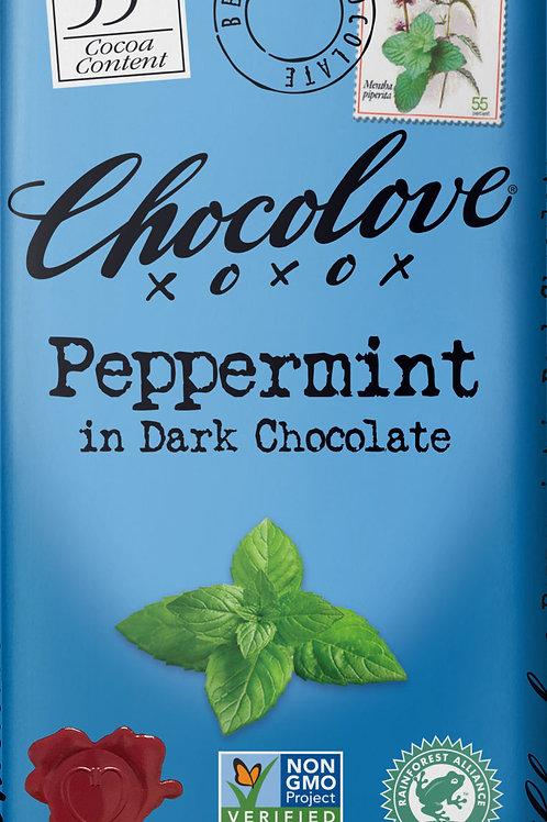Chocolove - Peppermint Dark Chocolate 3.2oz