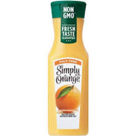 Simply- Orange Pulp-free Juice 11.5 oz