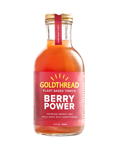 Goldthread - Berry Power 12 oz (6 pack)