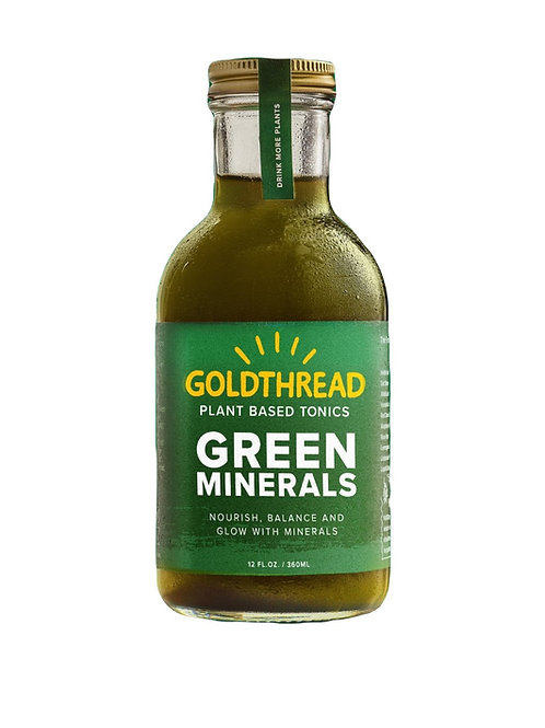 Goldthread - Green Minerals 12oz (6 pack)
