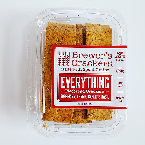 Brewer's - Everything Flatbread Crackers (5 oz)
