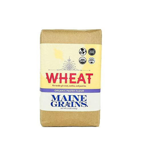 Maine Grains- Pastry Flour 2.4lb Organic