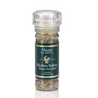 Maine Sea Salt Co. Herbes Sal'ees Grinder 3.6oz
