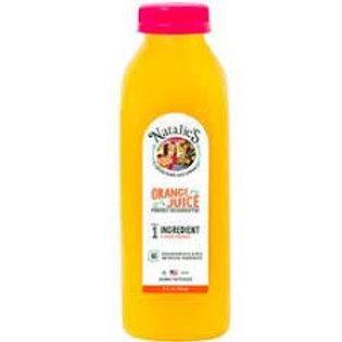 Natalie's Premium Orange Juice 16oz (12 pack)