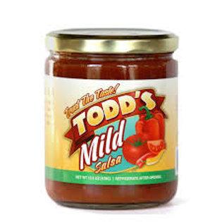 Todd's Mild Salsa 16oz
