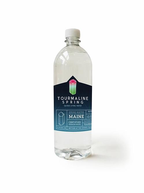 Tourmaline Sacred Living Spring Water 1L (12 pack)