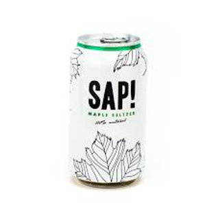 SAP! Maple Seltzer organic 12oz (4 pack)