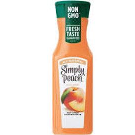 Simply- Peach juice 11.5 oz