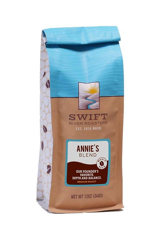 Swift River Roasters Annie's Blend Ground Coffee Med. Roast 12 oz bag