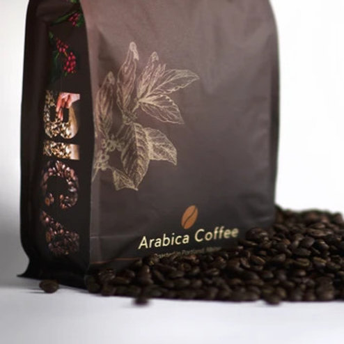 Arabica Coffee French Roast 1lb Bag (single Bag)