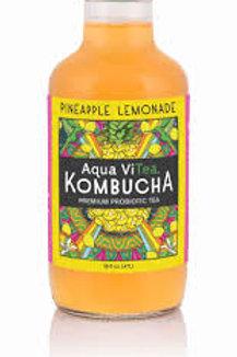Aqua ViTea Kombucha Pineapple Lemonade organic/raw 16oz