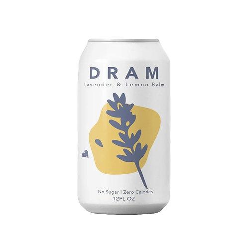 Dram -Lavender Lemon Sparkling Water 12 oz (24 pack)