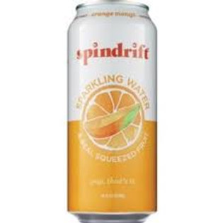 Spindrift Orange Mango Sparkling Water 16oz (12 Packs)