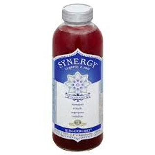 GT's SYNERGY Gingerberry Kombucha 16oz