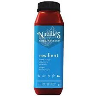 Natalie's Holistics Resilient Cold Pressed Juice 10 oz (9 pack)