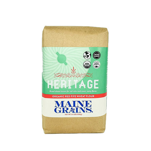 Maine Grains- Heritage Red Fife Wheat 2.4lb Organic