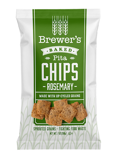 Brewer's - Pita Rosemary Baked Chips 7 oz