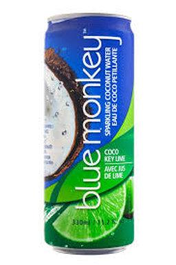 Blue Monkey Sparkling Key Lime 330ml (12 pack)