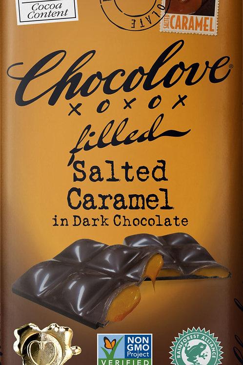 Chocolove - Salted Caramel Dark Chocolate Bar 3.2oz
