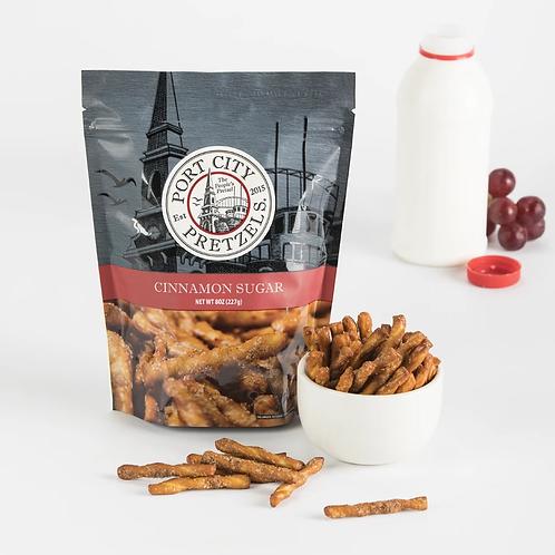 Port City Pretzel- Cinnamon Sugar