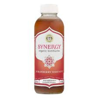 GT's Strawberry Serenity Kombucha 16oz