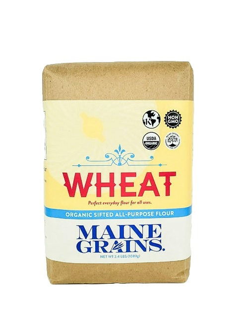 Maine Grains- Sifted Wheat Flour 2.4lb Organic