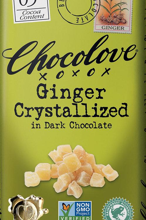 Chocolove - Ginger Dark Chocolate Bar 3.2oz