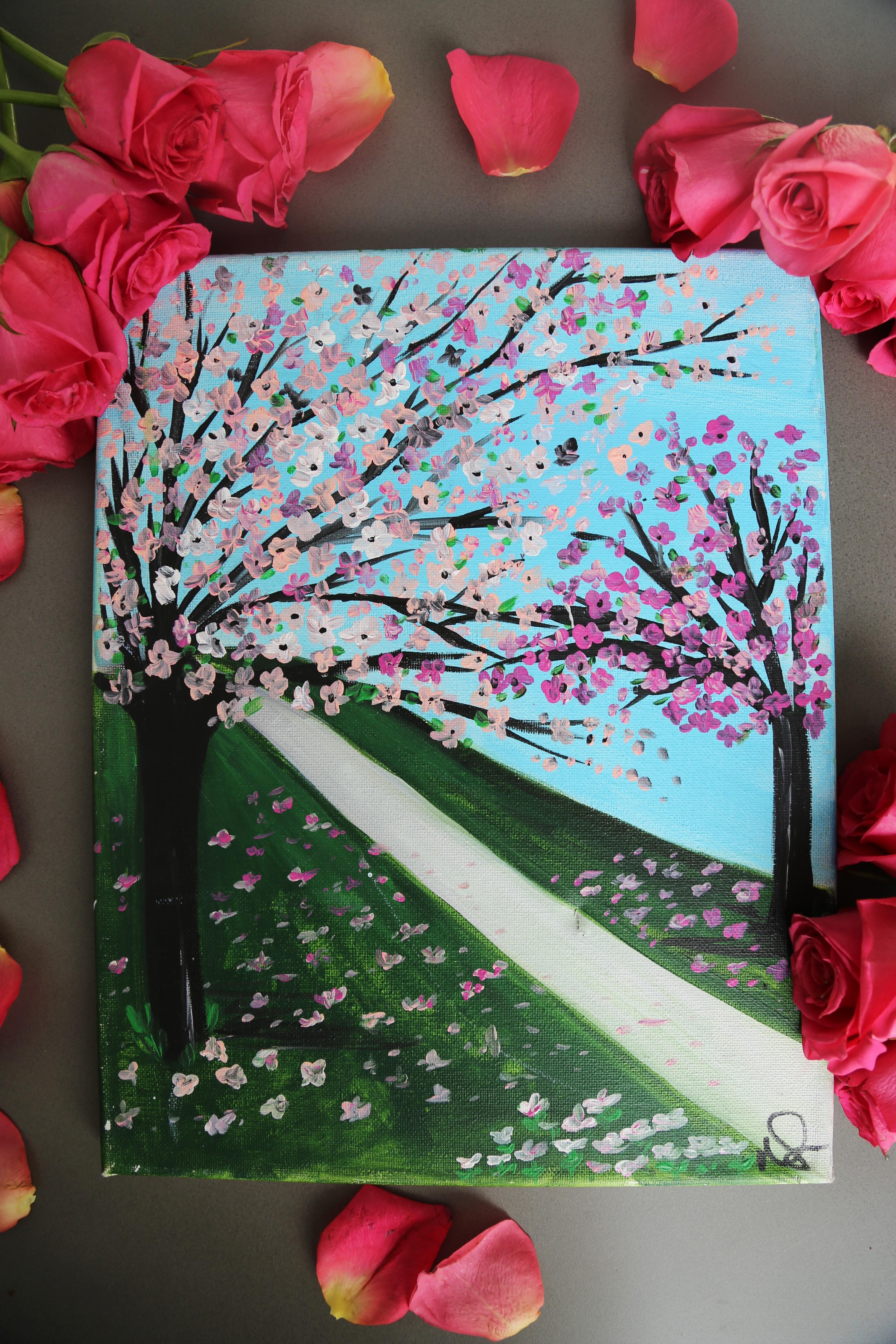 Cherry Blossom Road