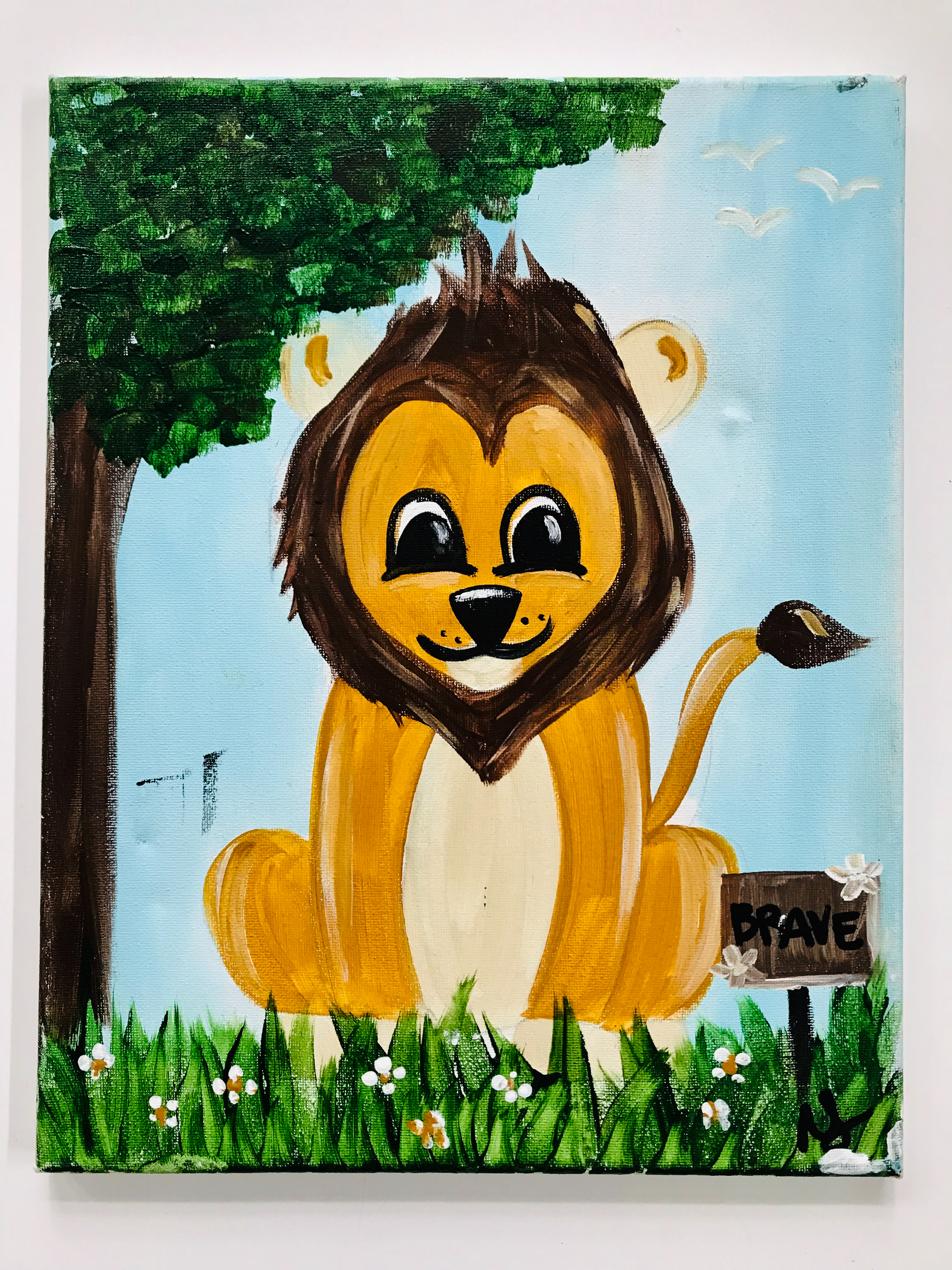 King of the Jungle Lion