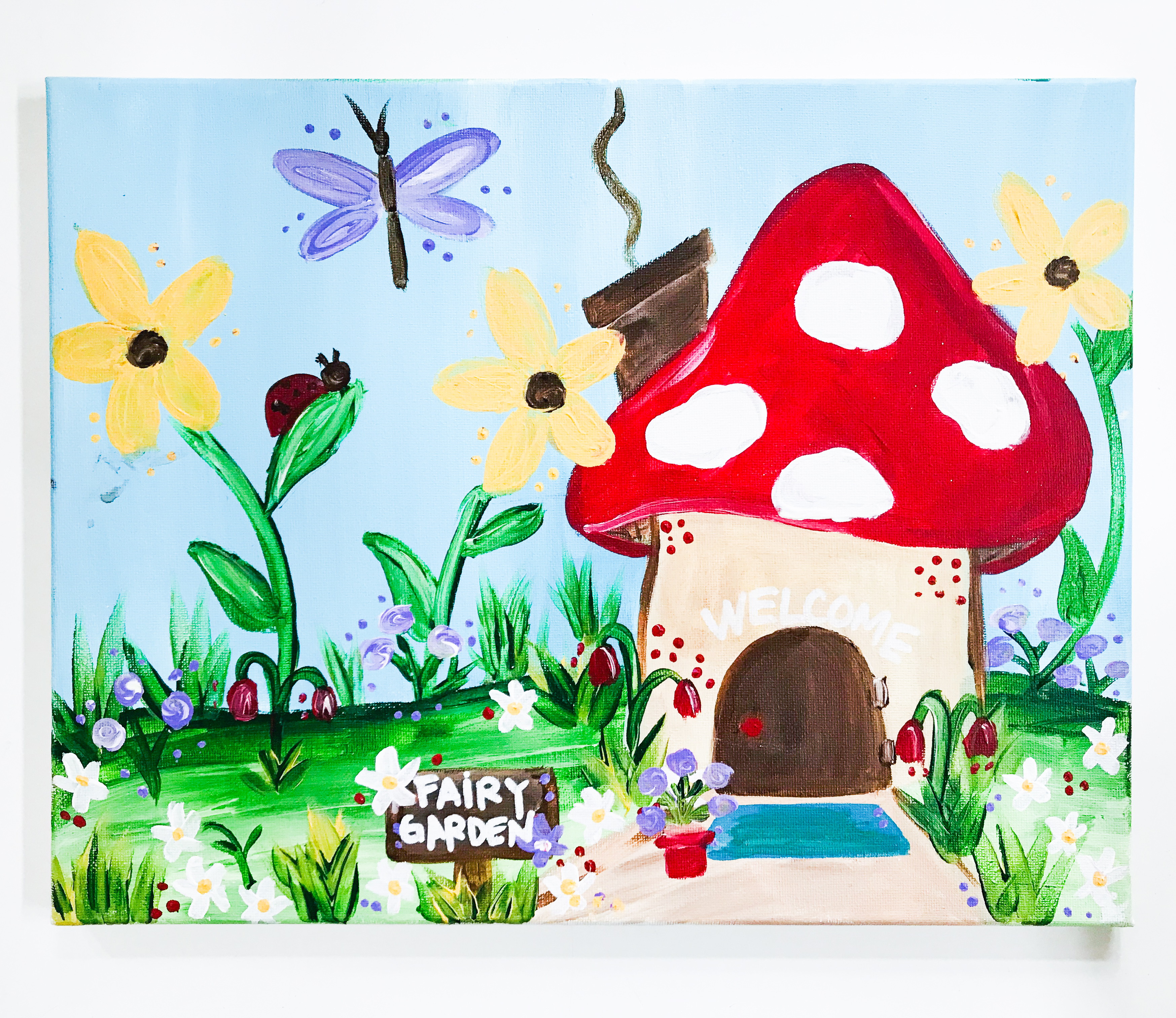 Hidden Fairy Garden