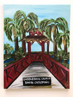 Bridge & Palm Trees