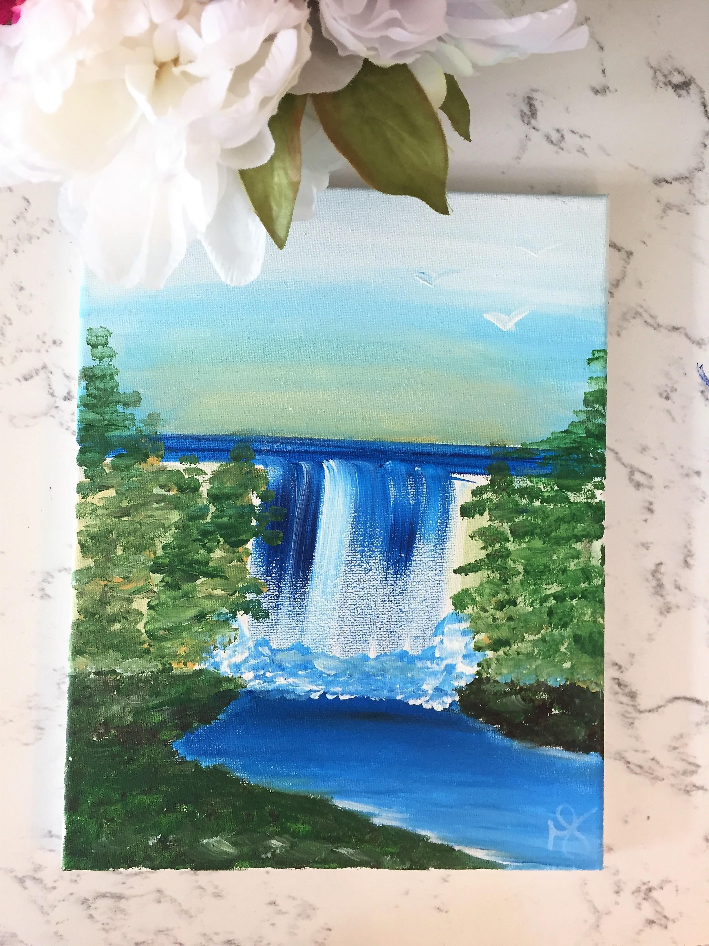 Lush Waterfalls