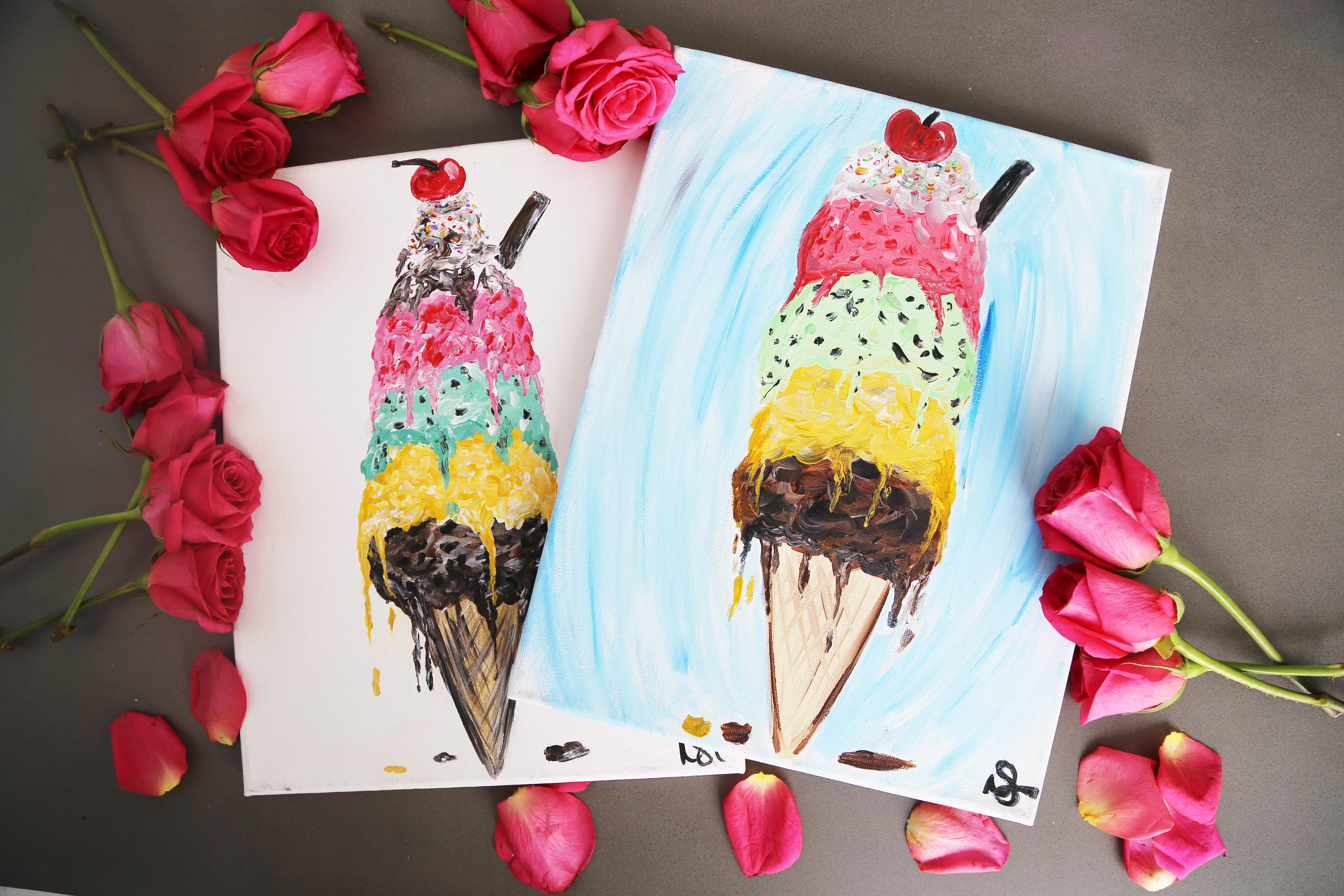 Triple Scoop Ice Cream