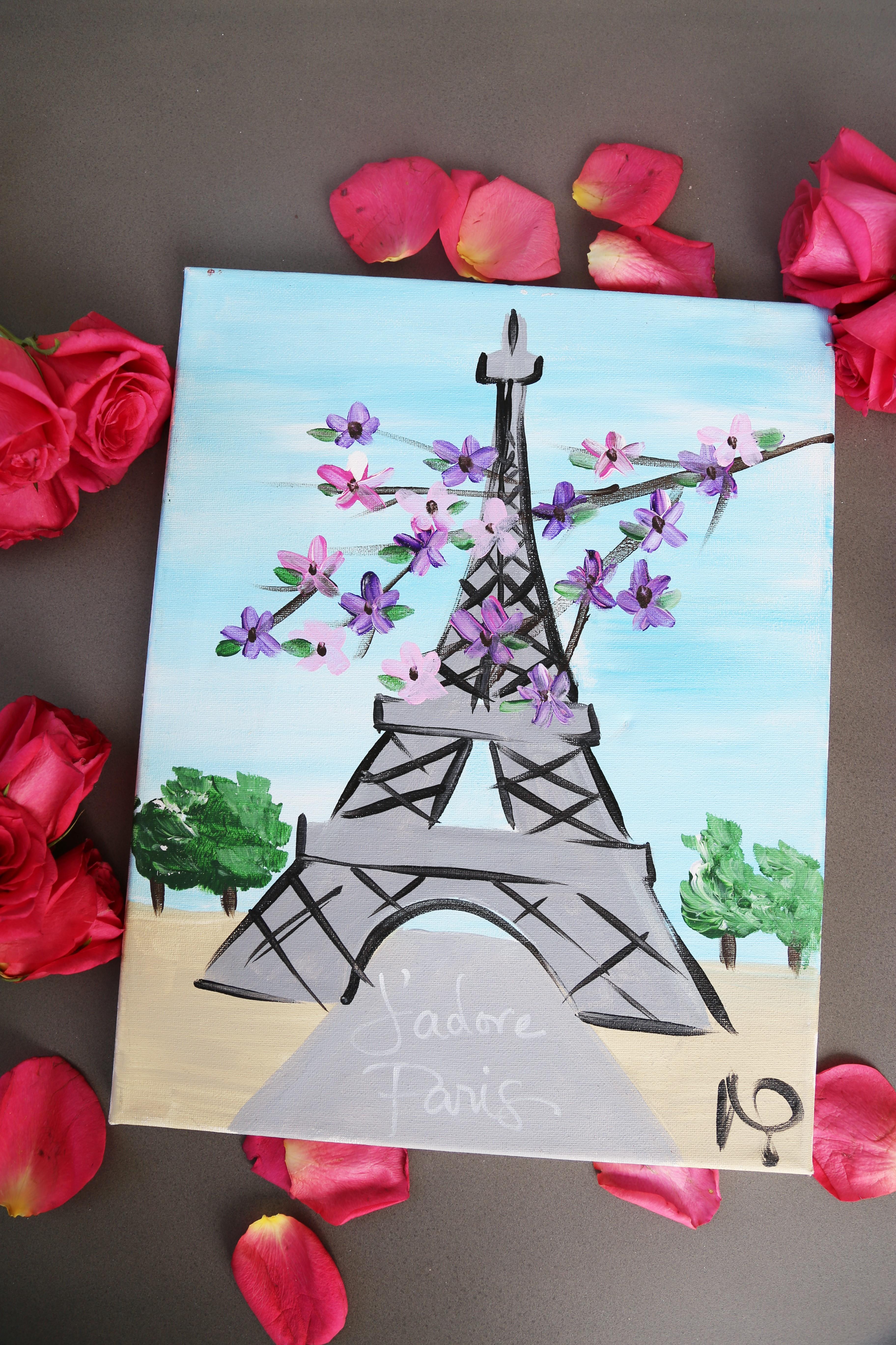 Eiffel Tower Stroll