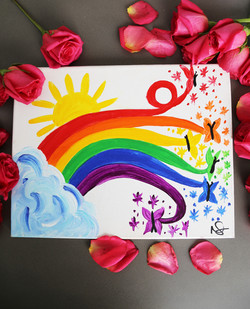 Rainbow Butterfies