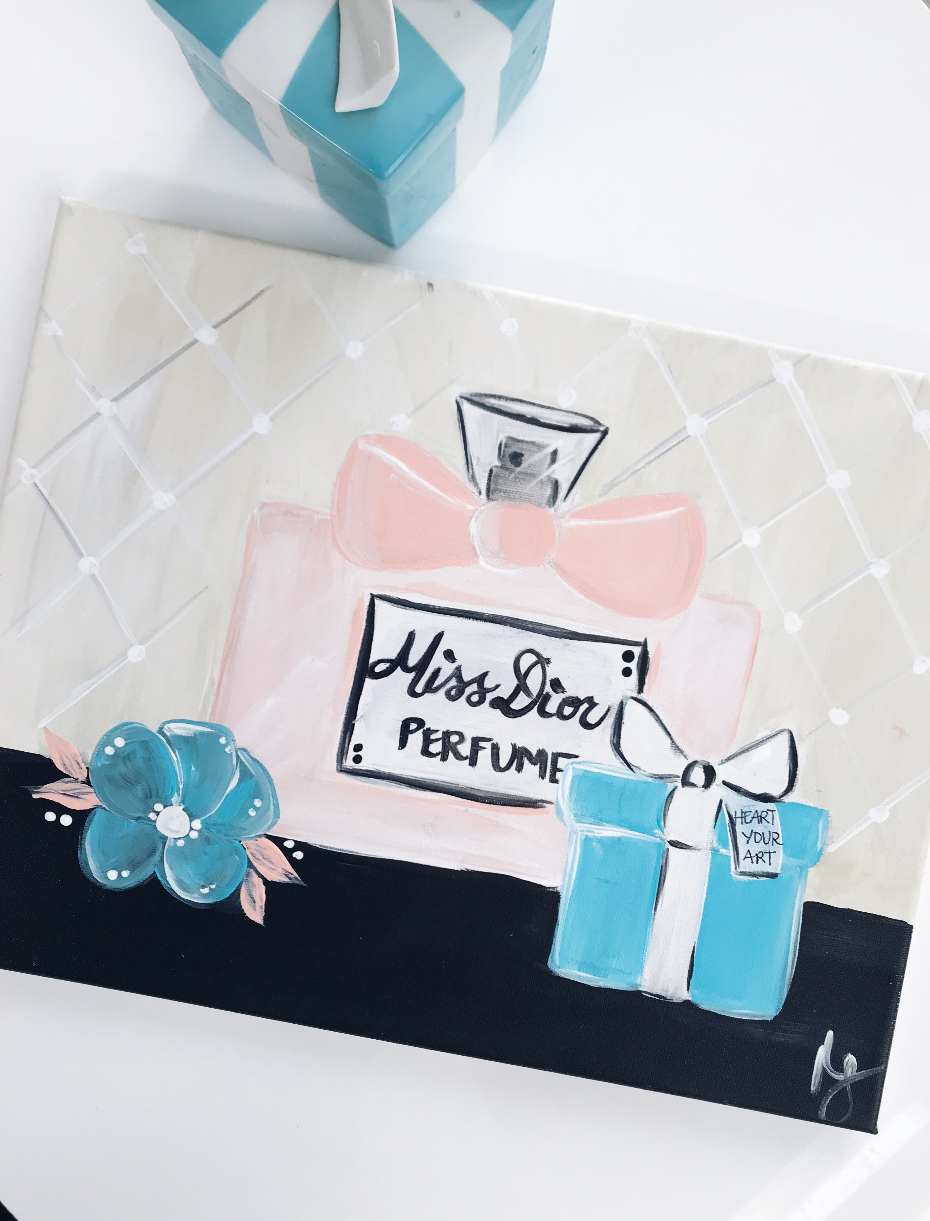 Little Blue Box and Perfume