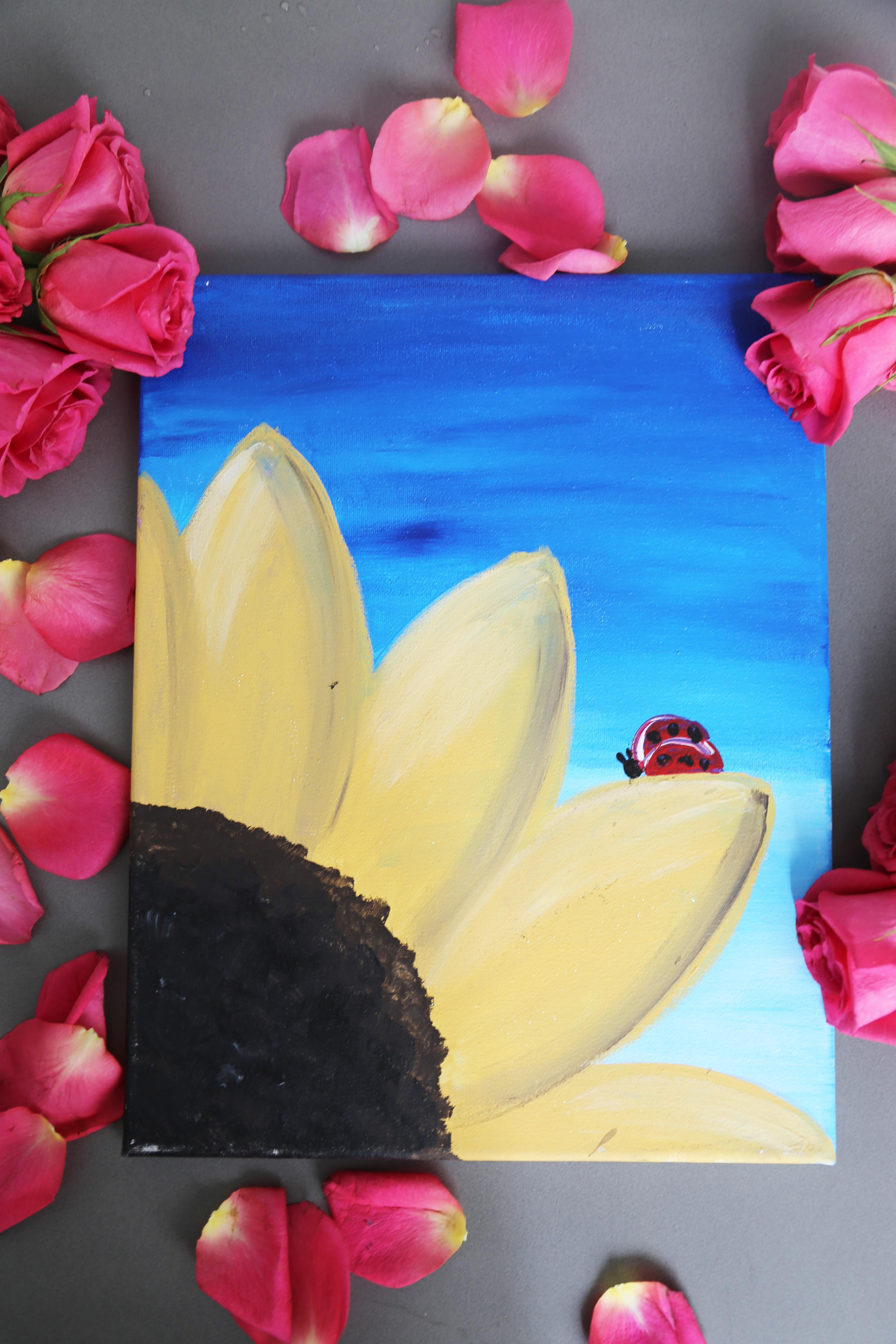 Sunflower Ladybug