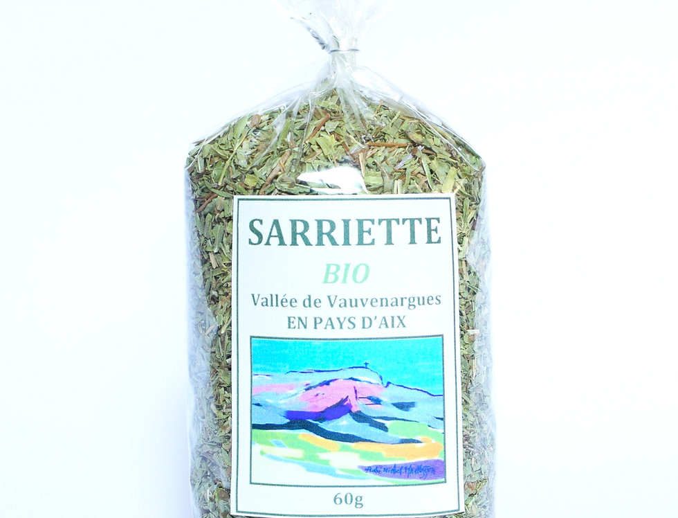 Sachet de Sarriette Bio 60gr