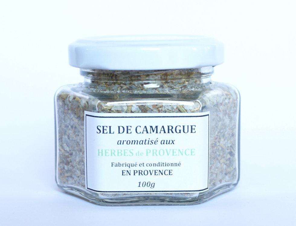 Sel de Camargue aux Herbes de Provence 100gr